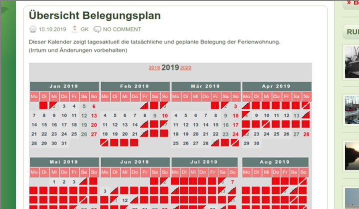 Belegungskalender